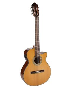 Richwood RC16CE Classic Guitar with 4 Band EQ - Natural