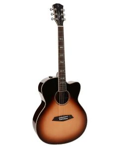Sire R7 Series All Solid Acoustic Grand Auditorium Guitar with SIB Electronics and Cutaway R7GSVS