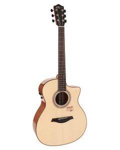 Mayson Limited Edition Marquis Cutaway Model Acoustic Guitar with Gig Bag VISTA