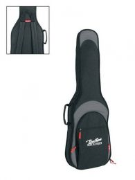 Boston Deluxe Padded Bag for Electric Guitar - 25mm Padding - Black & Grey