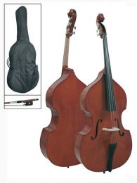 Schneider Double Bass with Bag