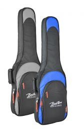 Boston Deluxe Super Packer gig bag for Electric guitar - Available in Black & Blue & Black & Grey - E-15 Series
