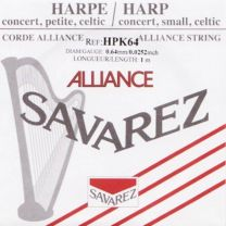 Savarez Alliance Small or Concert Harp String - HPK-64