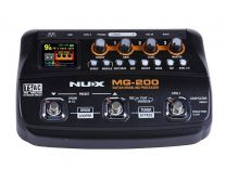NUX Amp Modeling Processor with Drum Machine and Phrase Looper MG-200
