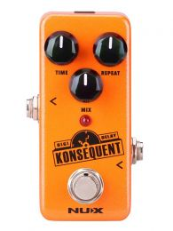 NUX Mini Core Series Digital Delay Pedal KONSEQUENT DELAY NDD-2