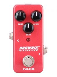 NUX Mini Core Series Classic Distortion Pedal BROWNIE DISTORTION NDS-2