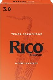 Rico Tenor Sax Reeds by D'Addario, Strength 3.0, 10-pack