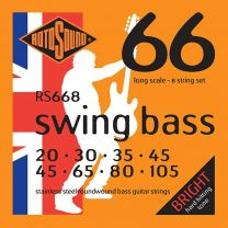 Rotosound 'Swing Bass 66' RS668 8 String Stainless Steel 20-45