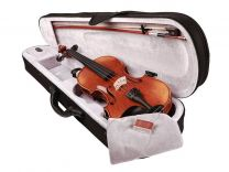 Rudolph Complete Violin outfit with Case and Bow 1/2 scale Violin RV-1012