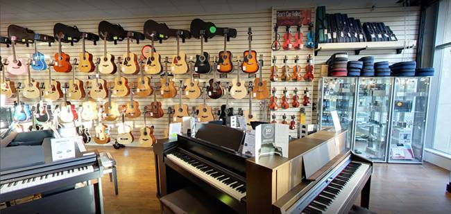Everest Music & Piano Centre Bray